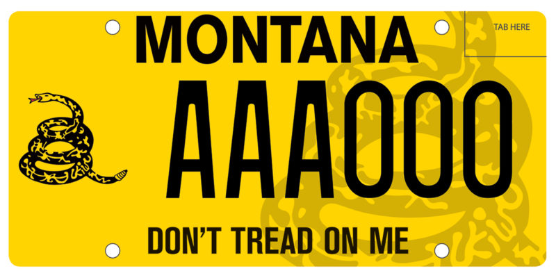 don t tread on me plates now on sale 1776 foundation